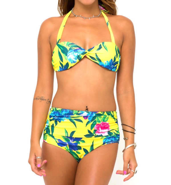 swimwear bikini beachwear cute pretty stylemoi