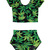 So Hazy — WEED LEAF CROP TOP   BOTTOMS NANA SET