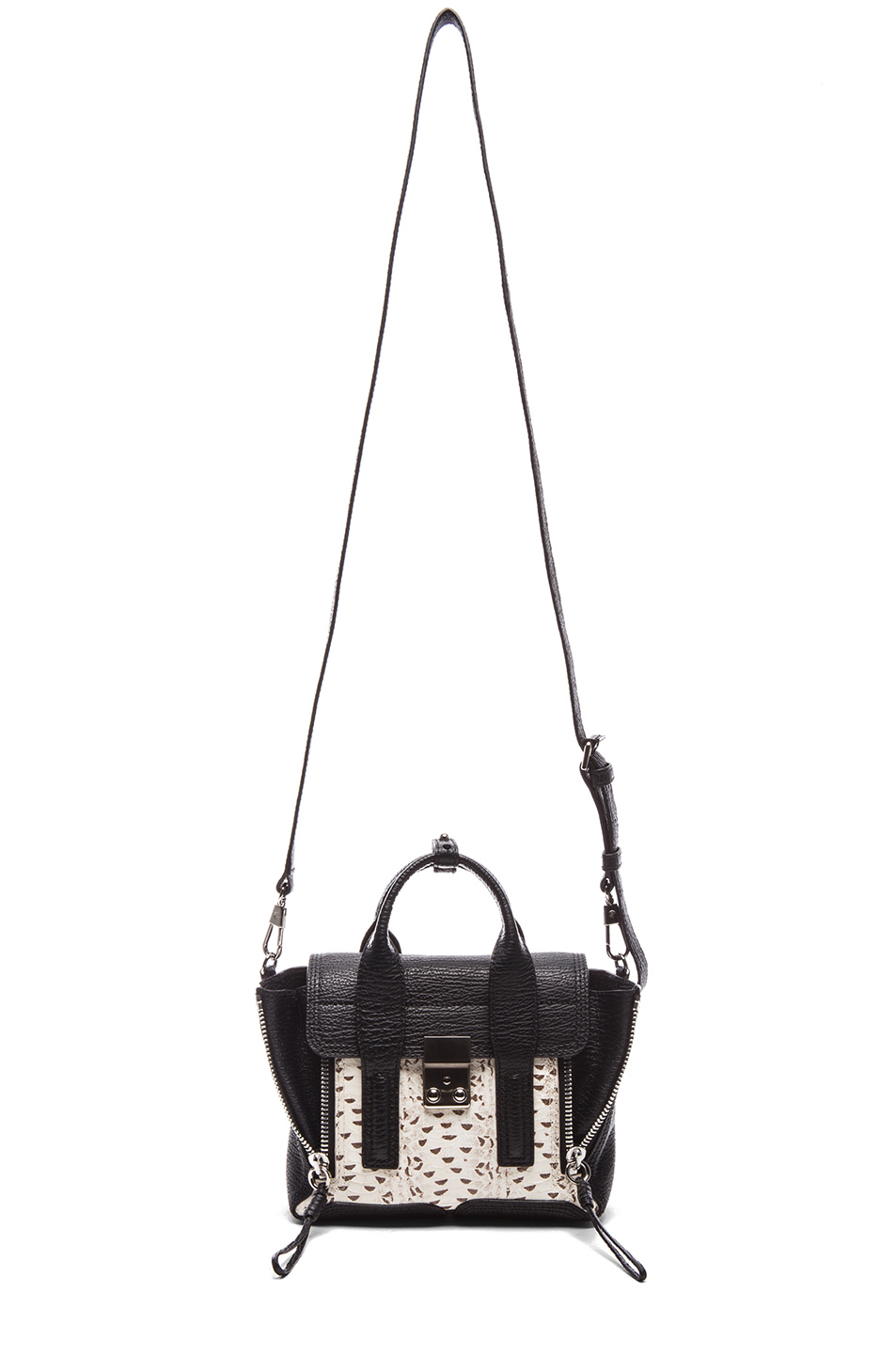 3.1 phillip lim|EXCLUSIVE Mini Pashli Satchel in White & Black