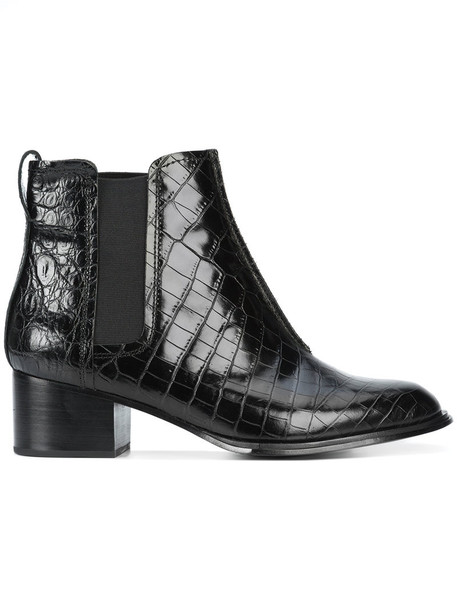 Rag & Bone women ankle boots leather black shoes