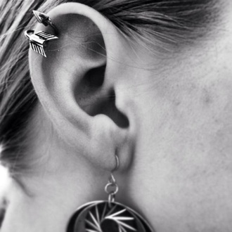 jewels arrow silver helix piercing