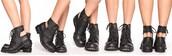 black shoes,boots,jeffrey campbell,shoes