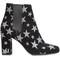 Saint laurent 'babies 90' chelsea ankle boots, women's, size: 36.5, black, suede