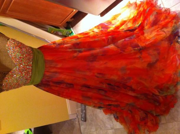 jovani dress shiny prom prom dress gown beautiful