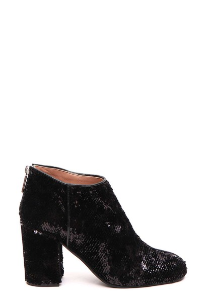 ankle boots sequins shoes