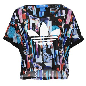 adidas Originals Post Digital Cropped Top - Women's at Lady Foot Locker