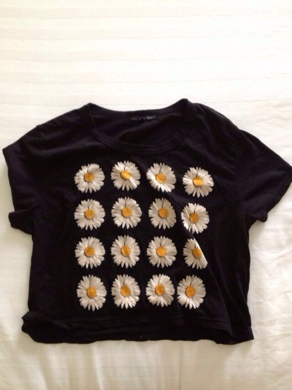 shirt daisy cotton t-shirt