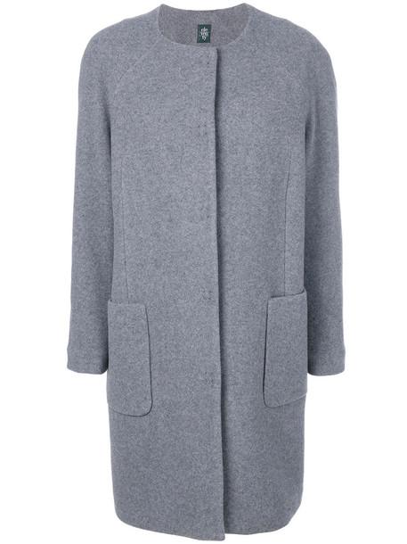 Eleventy coat women wool grey