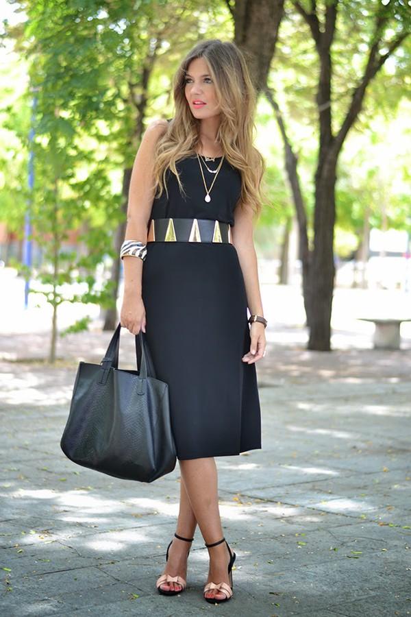 mi aventura con la moda shoes bag belt make-up dress
