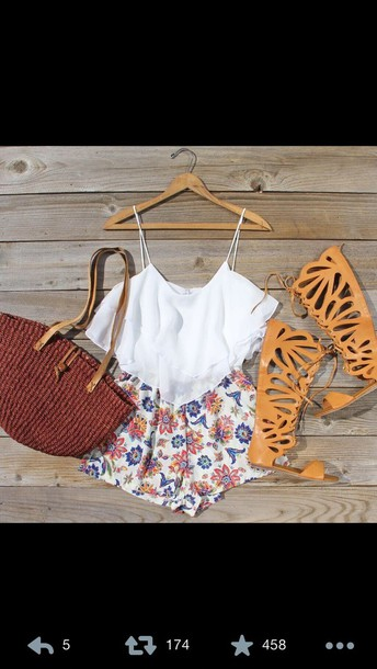 bag sandles romper shoes