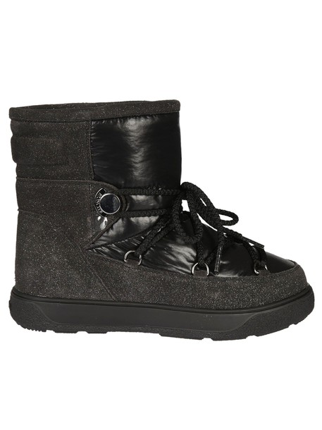 moncler fancy new ankle boots black shoes