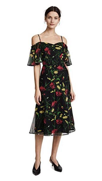 Jason Wu Grey dress chiffon dress chiffon black