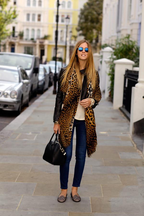 Yves Saint Laurent | Leopard-print silk-muslin scarf | NET-A ...