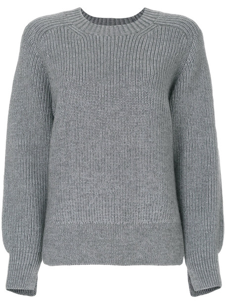 3.1 Phillip Lim sweater knitted sweater women mohair wool grey