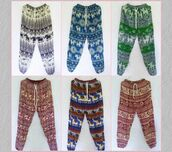 pants,tribal pants,rayon pants,women pants,men pants,elephant pants,stretch waist pants,elastice waist pants,elastic pants