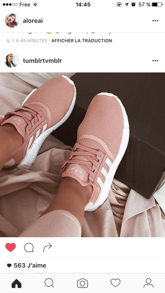 shoes pink adidas shoes adidas girly