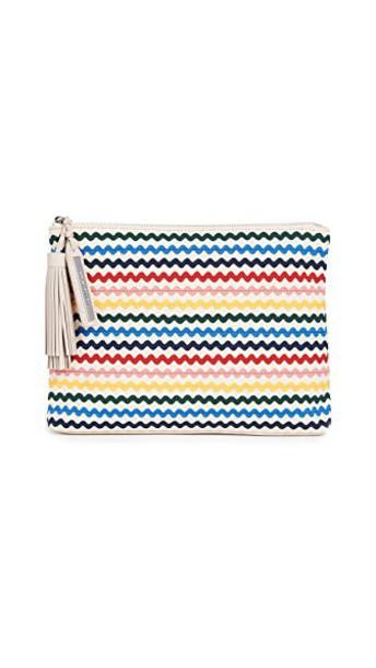 Loeffler Randall tassel pouch rainbow bag