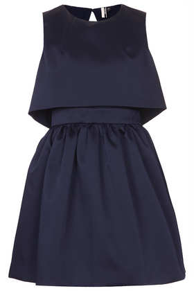Duchess Satin Skater Dress - Dresses  - Clothing  - Topshop