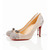 corta mia christian louboutin 85mm karung and suede pumps beige