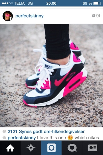 shoes pink nike running shoes must have #pretty nike running shoes air max pink oh my god love these woman pink
