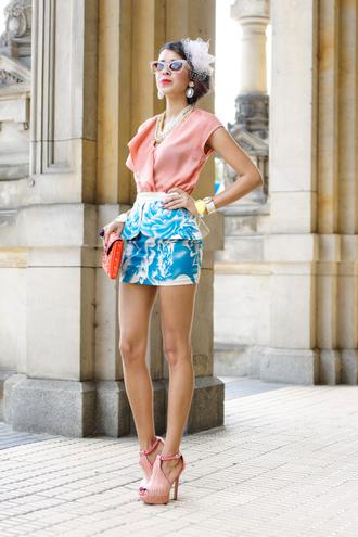 macademian girl t-shirt skirt shoes bag jewels sunglasses