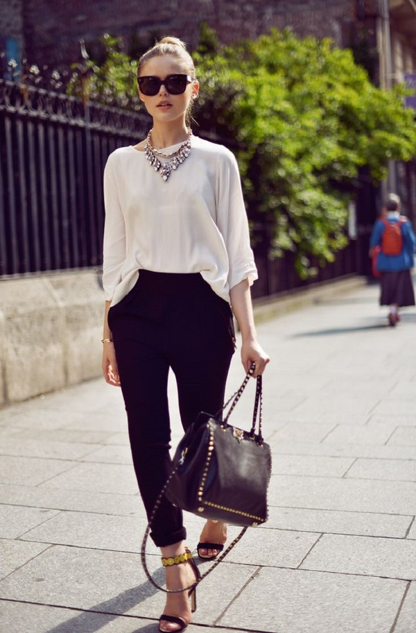 Pants Office Outfits Kayture Kristina Bazan Top