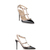 Sexy Womens Rivet Strap Pointed Toe High Heels Buckle Stiletto Sandals Shoes New | eBay