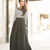 Amazing Heights :: Maxi skirt & Jeweled bib necklace : Wendy's Lookbook