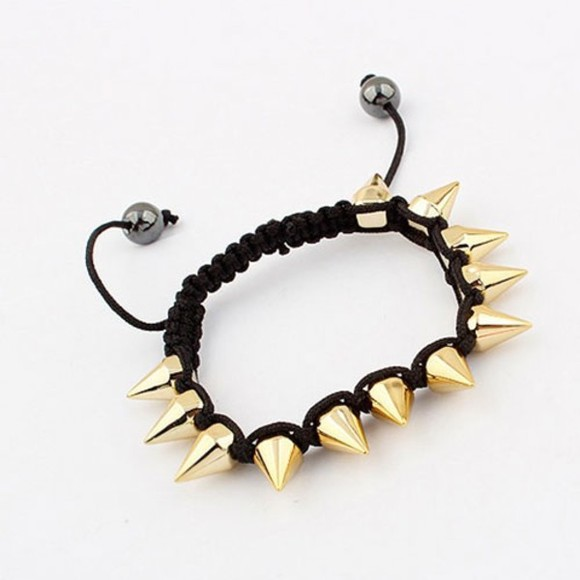 rivets jewels spikes bracelets