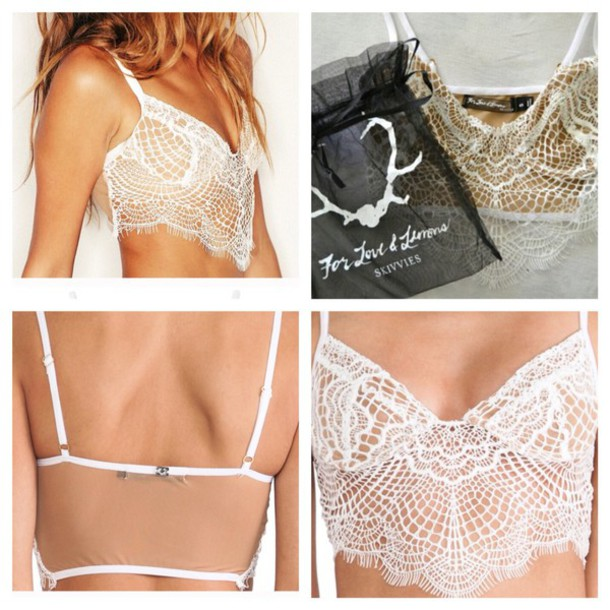 underwear For Love & Lemons bralette lace lingerie lace bra for love and lemons bra lingerie