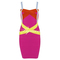 Multi sexy dress - bqueen colorful bandage dress hl047 | ustrendy