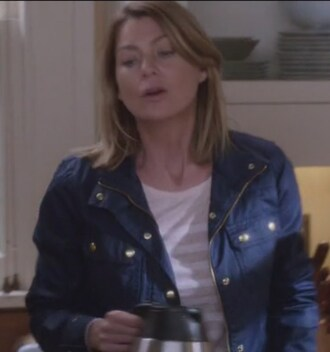 jacket grey's anatomy meredith grey ellen pompeo