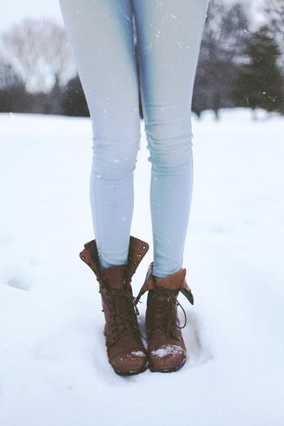 Jeans: blue, colored jeans, cute, clothes, shoes, boots ...