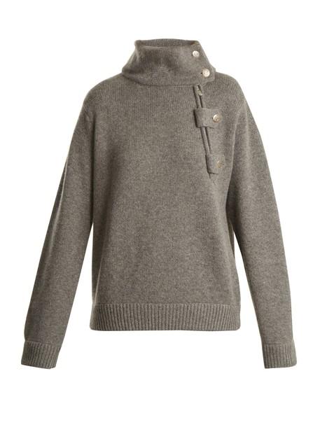 QUEENE AND BELLE sweater grey