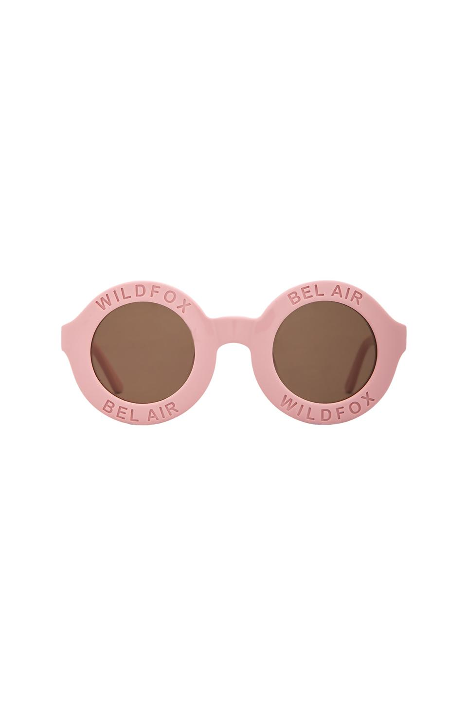 Wildfox Couture Bel Air Sunglasses in Pink & Brown | REVOLVE