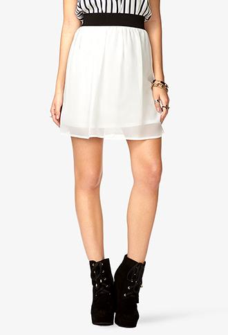 Chiffon Skirt | FOREVER21 - 2048580496