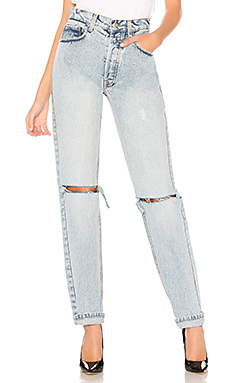 Palmer Girls x Miss Sixty Denim Mom Jeans in Light Wash from Revolve.com