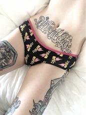 underwear,panties,pants,sexy,cartoon,tattoo