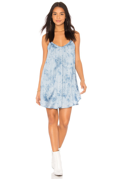 Amuse Society dress sun blue