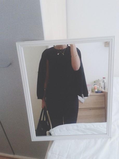 shirt black street