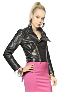 LEATHER JACKETS - DSQUARED -  LUISAVIAROMA.COM - WOMEN'S CLOTHING - SPRING SUMMER 2014