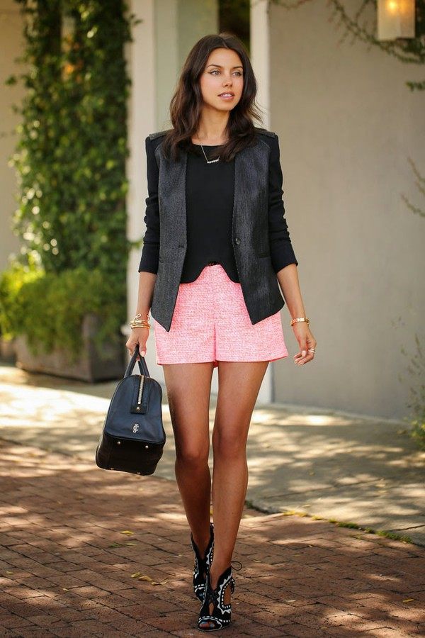 viva luxury shorts top jacket shoes jewels