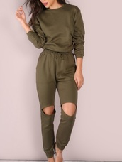 jumpsuit,girly,girl,olive green,one piece