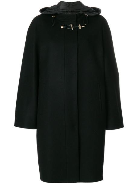 FAY coat women black wool