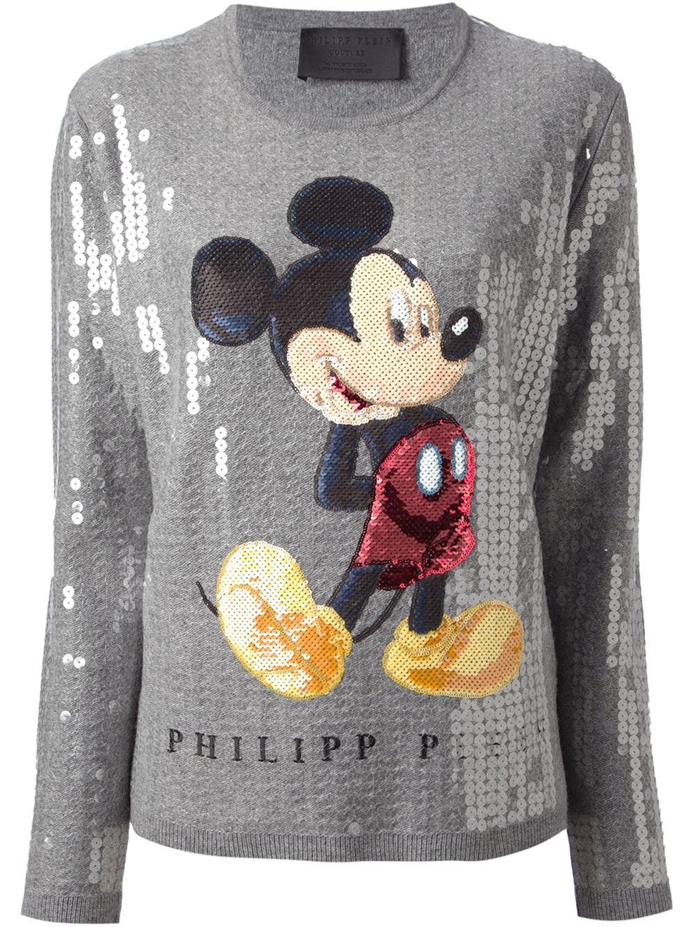 Philipp plein sequin embellished sweater
