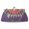 Elegant and simple mandala handbag clutch
