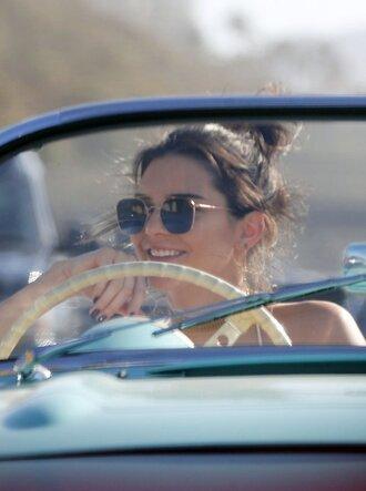 sunglasses kendall jenner gold