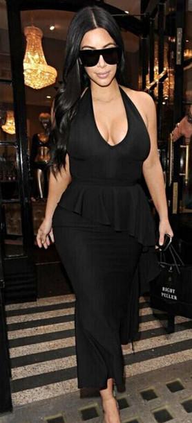dress dream it wear it dress clothes clothes black black dress little black  dress plunge neckline 66d70678d
