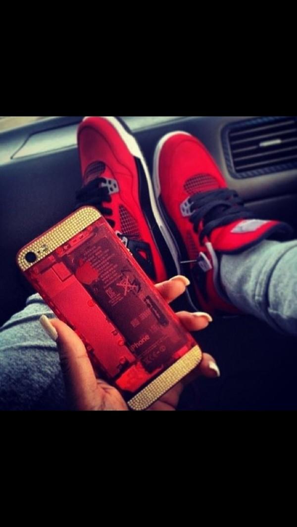 shoes air jordan phone cover