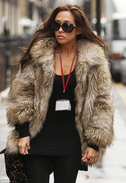 Jacket Faux Fur Fluffy Hollywood Fashion Inspo Ootd